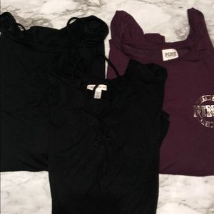 Bundle of 3 Super Soft Long Sleeves